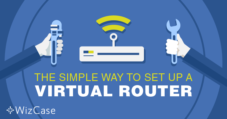 Настройване на виртуален рутер за Windows с VPN- мрежа