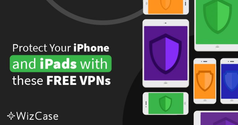 6 най-добри БЕЗПЛАТНИ VPN за iPhone & iPad