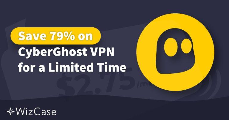 Валиден за 2020 г. купон за CyberGhost VPN: Спестете до 79% днес Wizcase